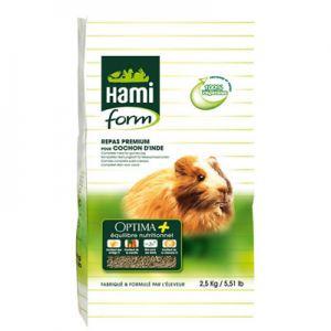 Nourriture Complète Premium Optima pour Cochon d'Inde. 2,5 Kg