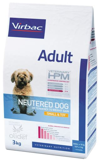 Vet HPM - Adult Neutered Dog Small & Toy