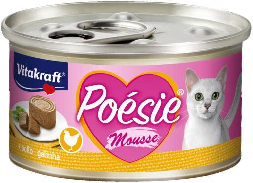 Poésie Mousee de Poulet 85 grs.