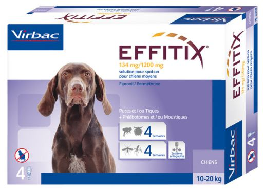 Effitix chien moyen (10 à 20 kg)
