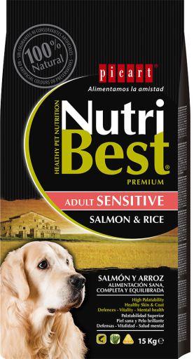 Nutribest Adult Sensitive Saumon et Riz
