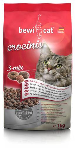Nourriture pour Chats Crocinis 3-Mix