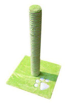 Griffoir pour Chats avec Poteau Savanna Vert