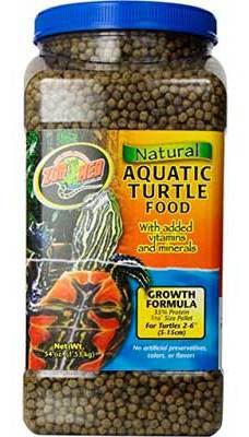 Croissance Alimentaire Tortue Aquatique