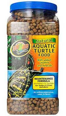 Entretien Tortue Alimentaire Aquatique