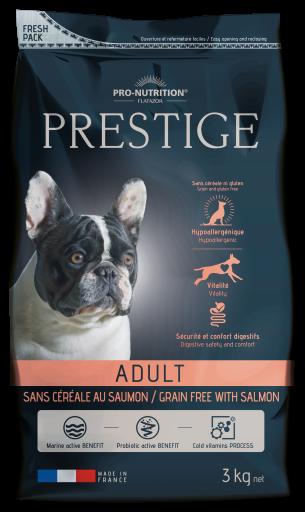 Tourteau pour Chiens Prestige Prestige Adult Saumon sans Céréales