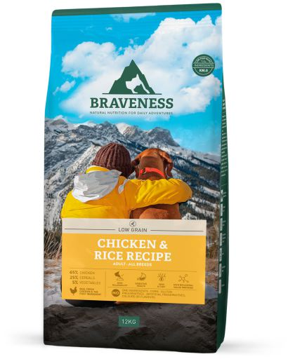 Aliment animal Natural Low Grain Recette de Poulet et Riz