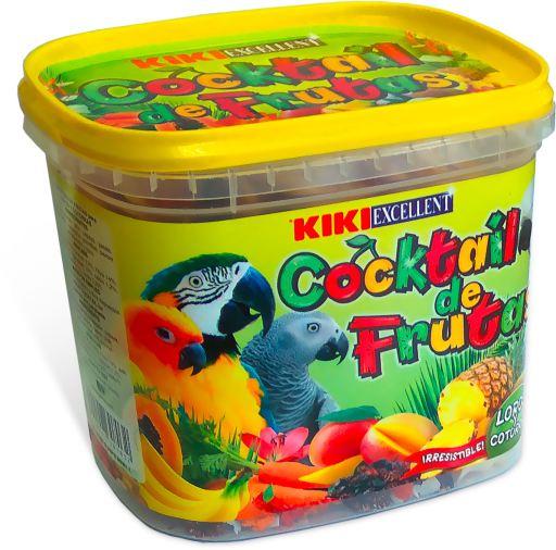 Cocktail de fruits pour perroquets pot