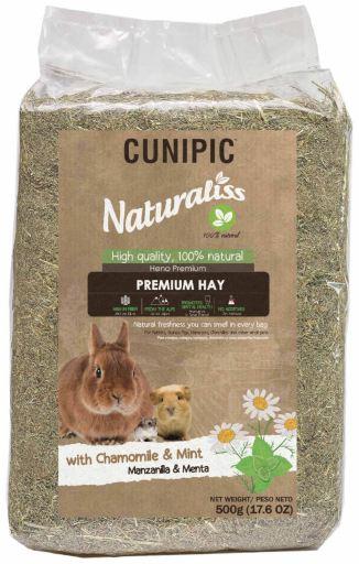 Foin Naturaliss Premium à la camomille et à la menthe
